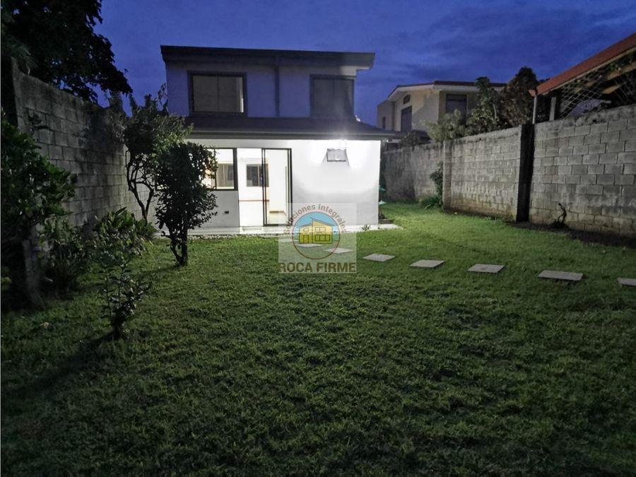 hermosa casa en villa adobe san pablo de heredia