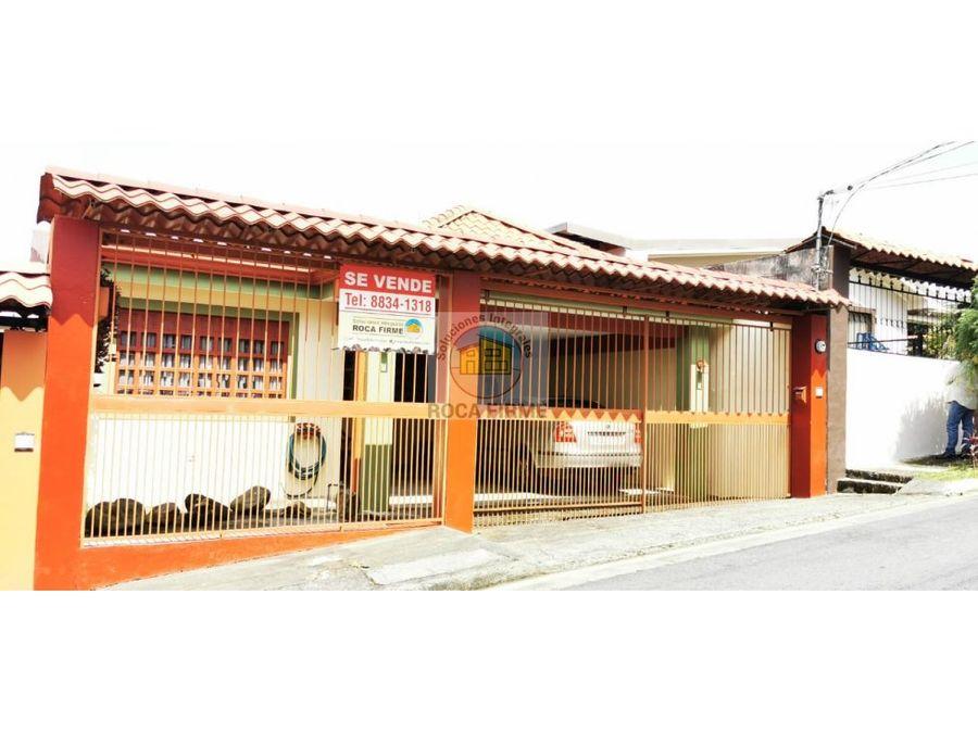 casa en san isidro de coronado