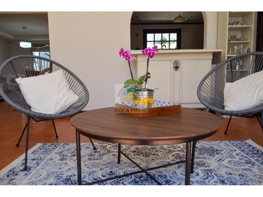 venta hermosa casa residencial villa adobe