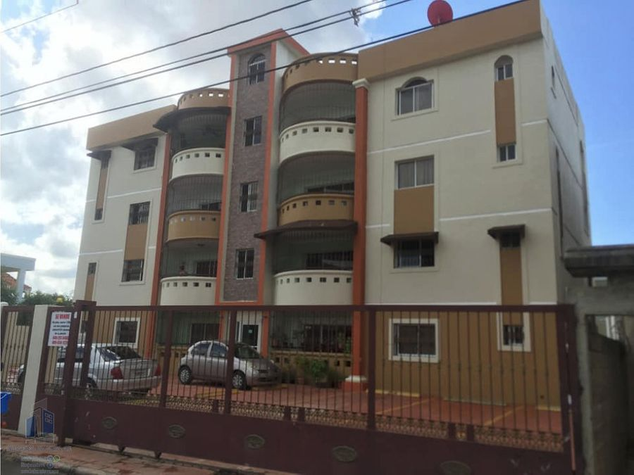 vendo apartamento listo en la zona oriental