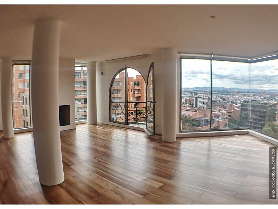 espectacular apartamento en venta en rosales