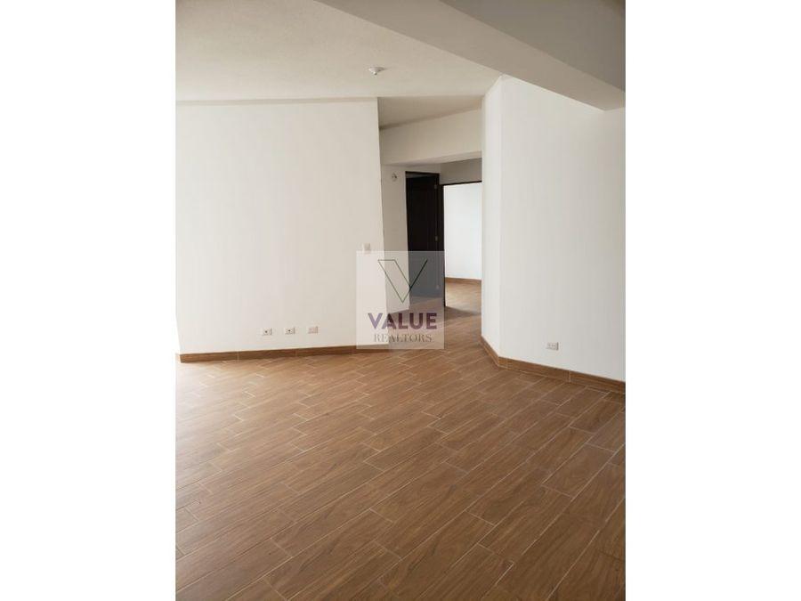 renta apartamento en z14 la villa 3 dorm
