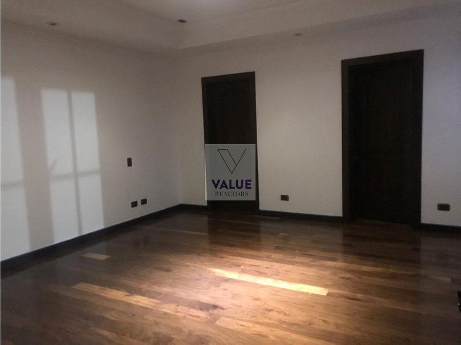 renta apartamento en paseo cayala 3 dorm 1 nivel