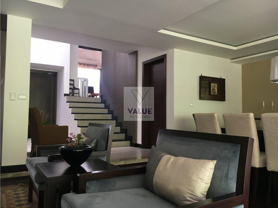 venta casa en exclusivo condominio en z16