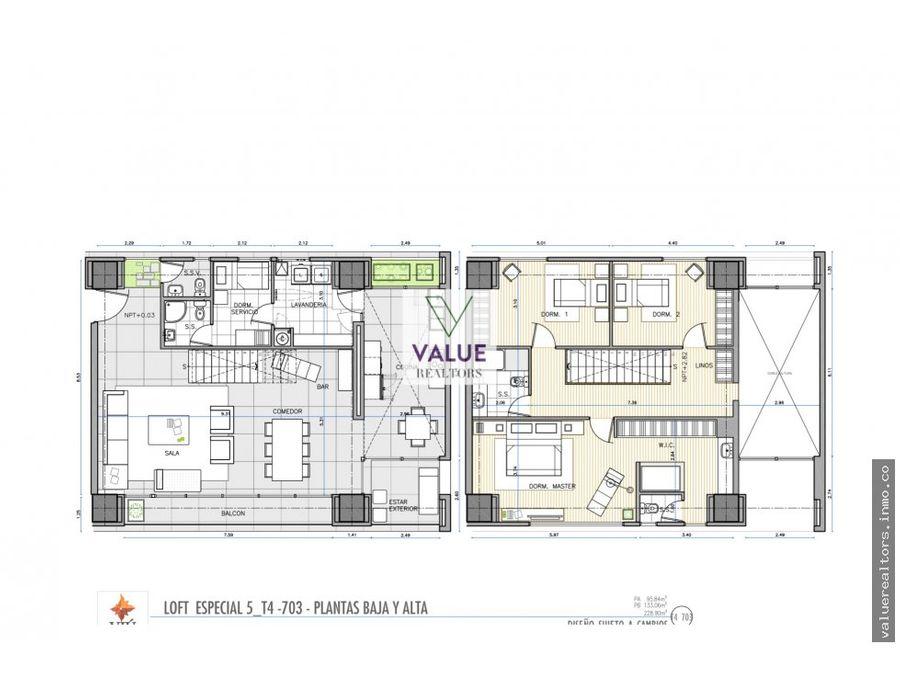 renta apartamento de lujo en z16 linda vista 1