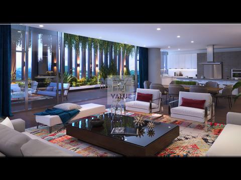 venta exclusivo apartamento nuevo de 3 dorm 263m2