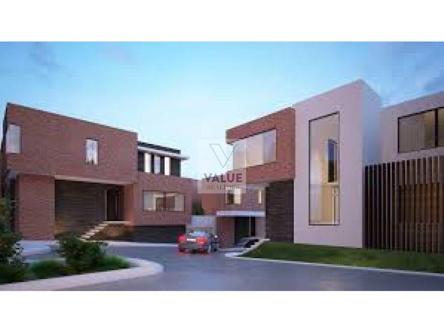 venta casa de 396 m2 en exclusivo condominio z15