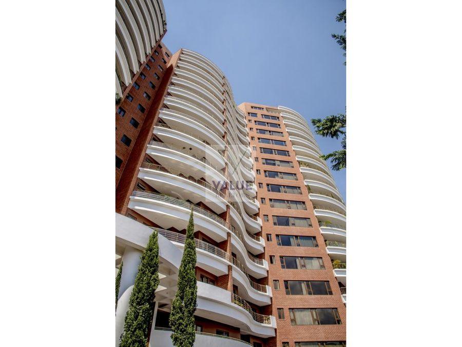 renta exclusivo apto de 430 m2 en z14