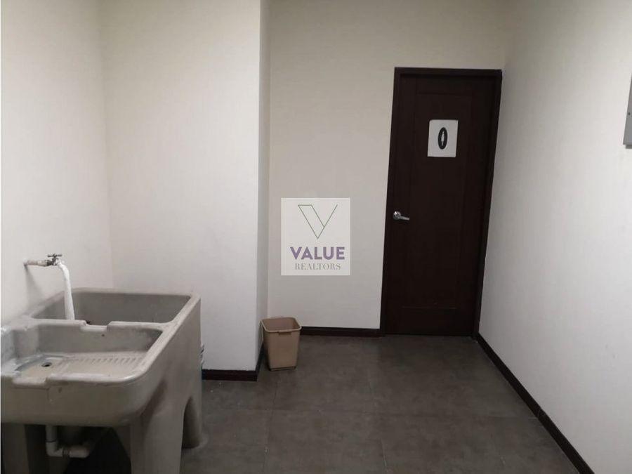 venta renta oficina en exclusivo edificio en z10 193m2 3 parqueos