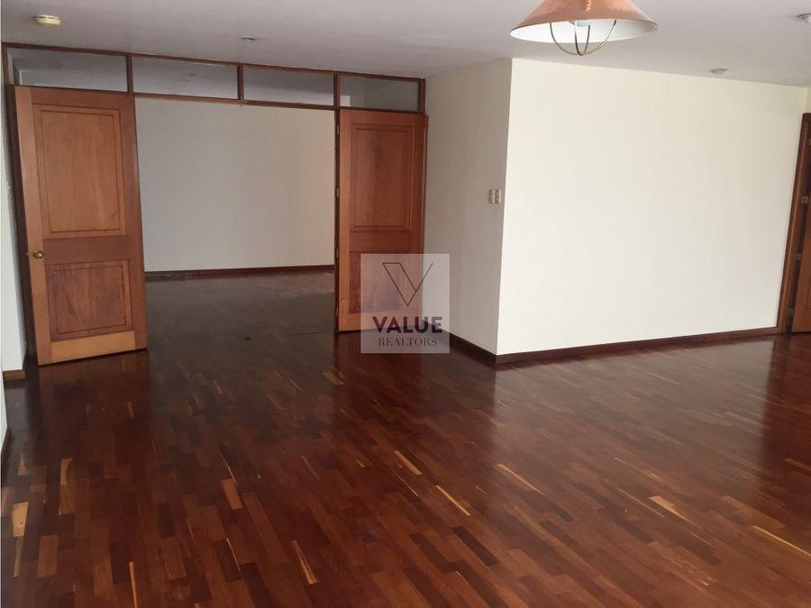 renta apartamento en z10 en exclusivo edificio 3 dorms 345m2