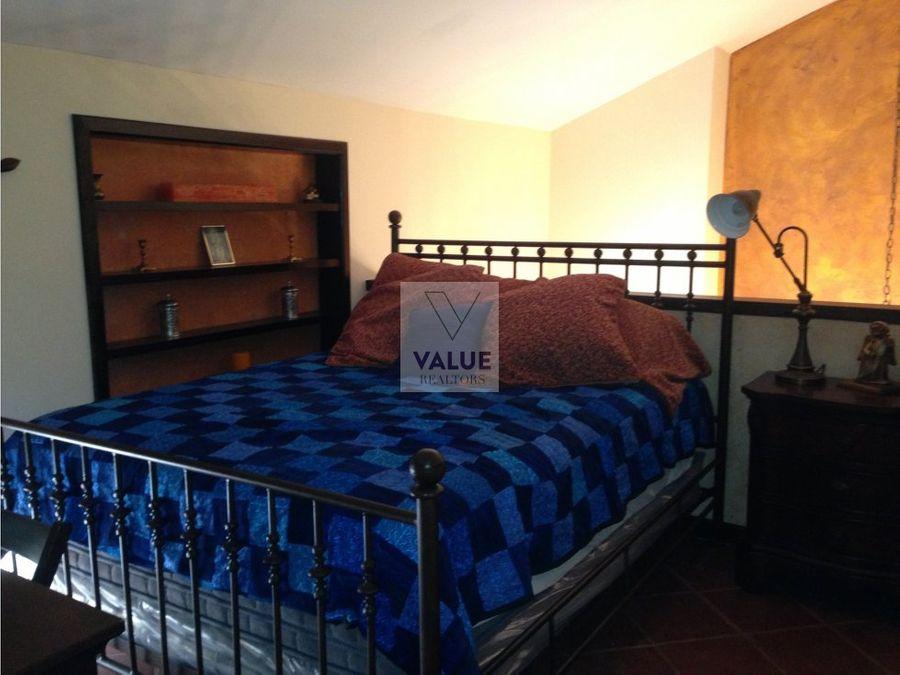 renta apartamento tipo loft en antigua