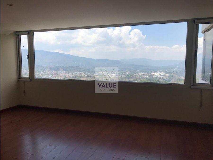 renta apartamento en z14 de piso completo 1