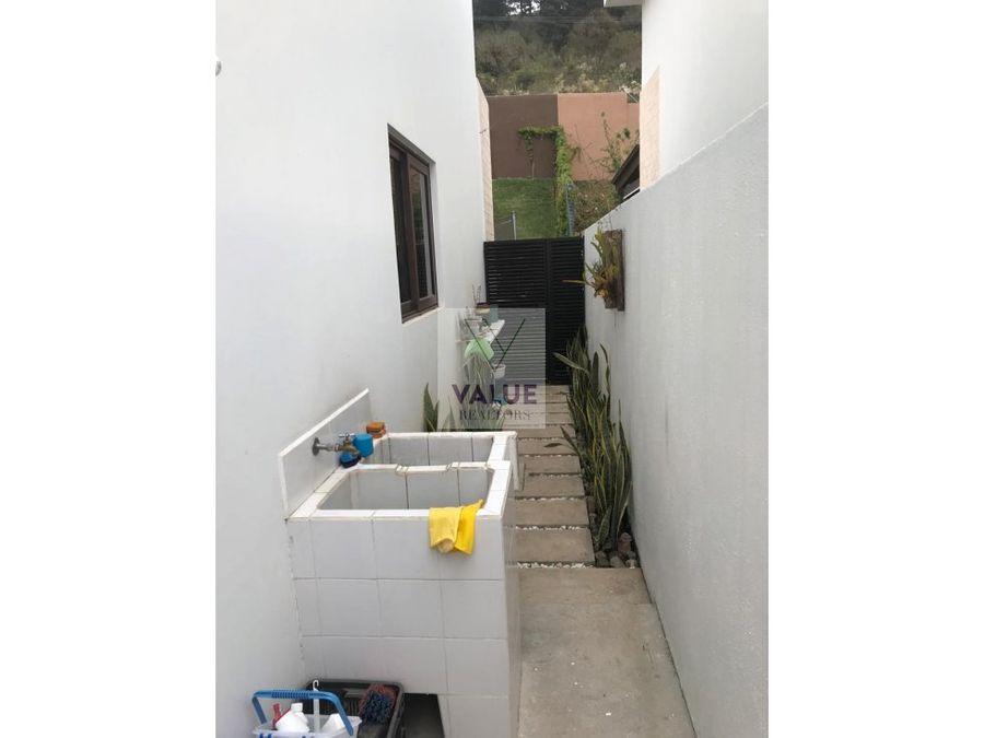 renta casa en exclusivo condominio en z16