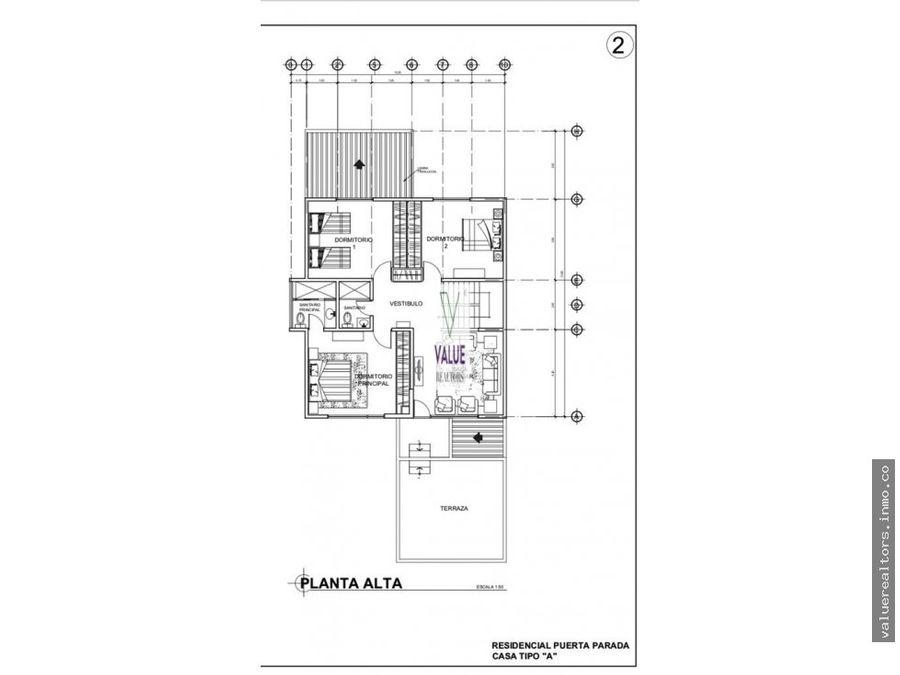venta bonita casa en condominio puerta parada 1
