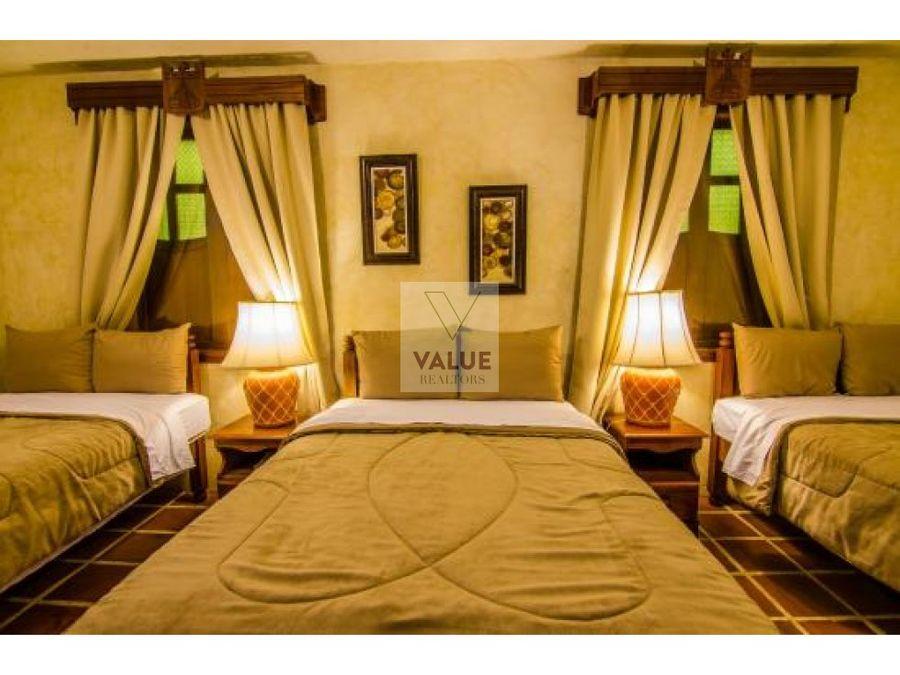 venta hotel en antigua de 32 habitaciones 1