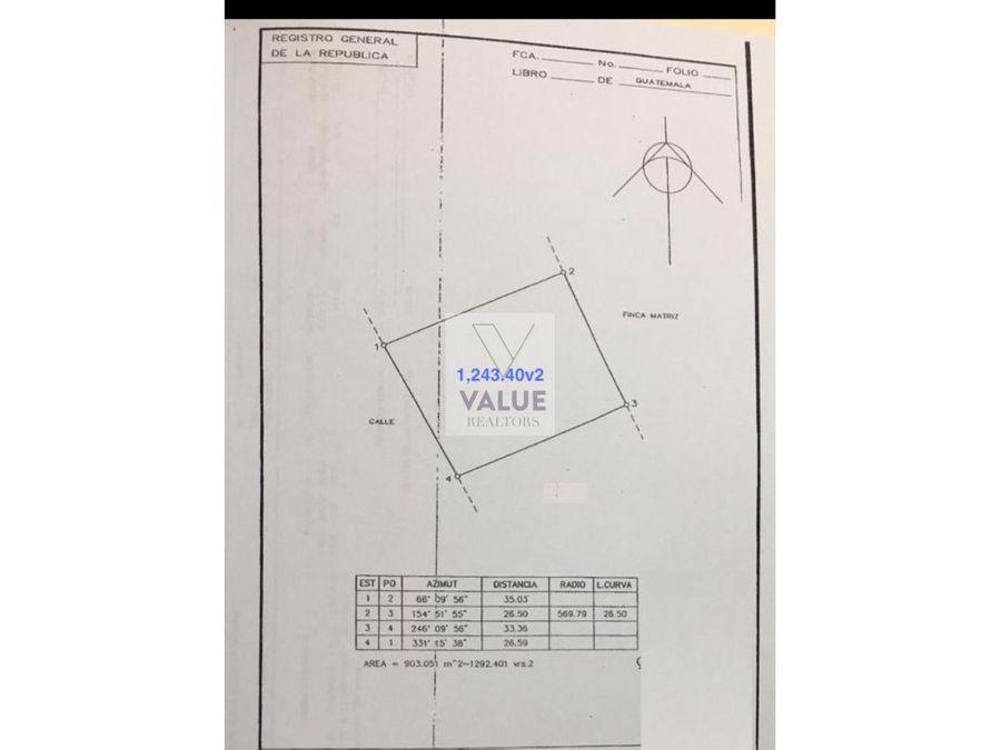 venta terreno cayala 1243 v2 1