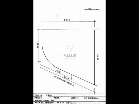 venta terreno en z13 sobre hincapie 653v2