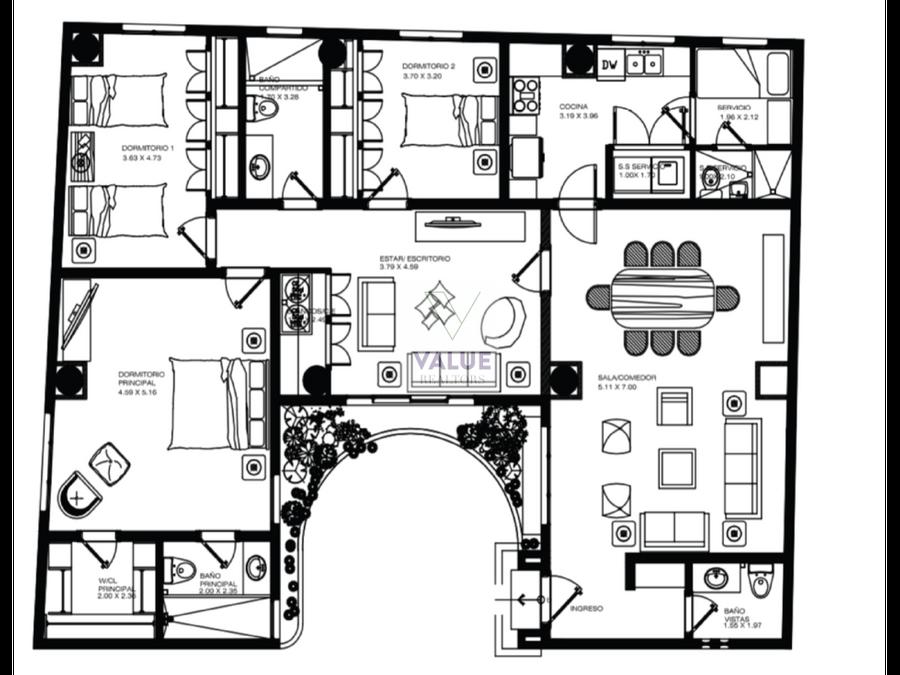venta y renta apartamento exclusivo en cayala