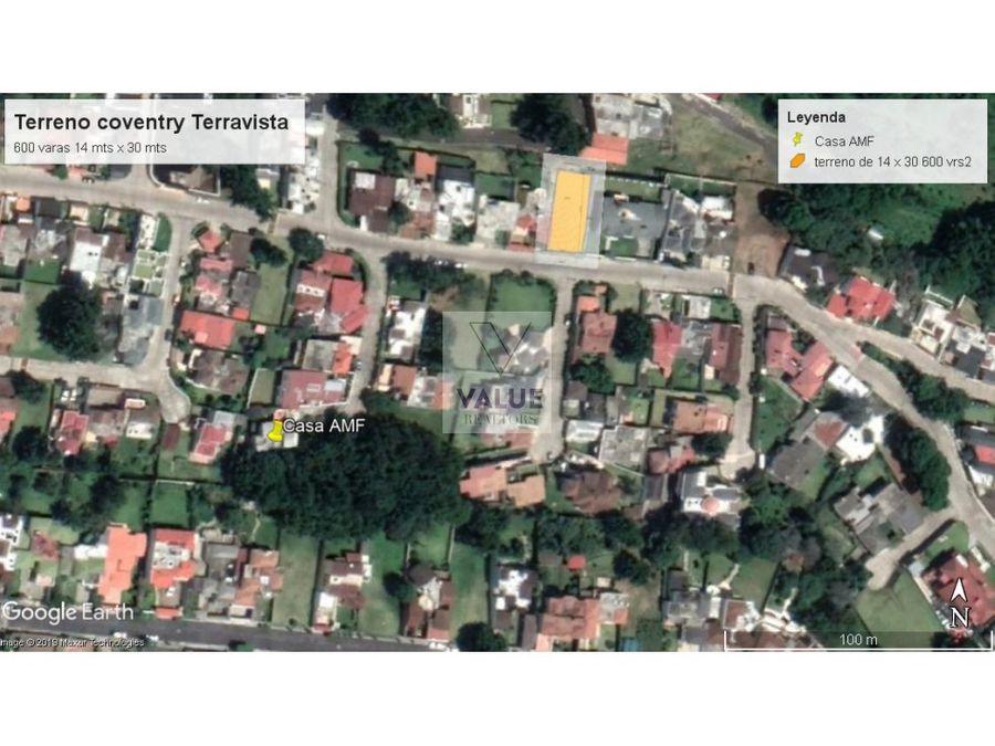 venta terreno en venta en terravista 1