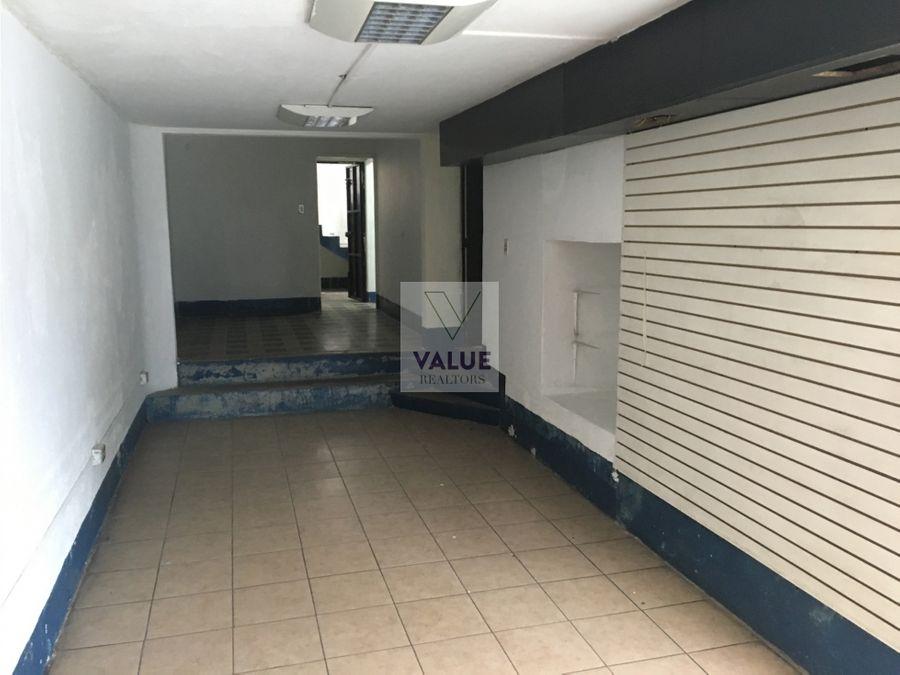 renta local sector z9 castellana y 5ta calle 294m2