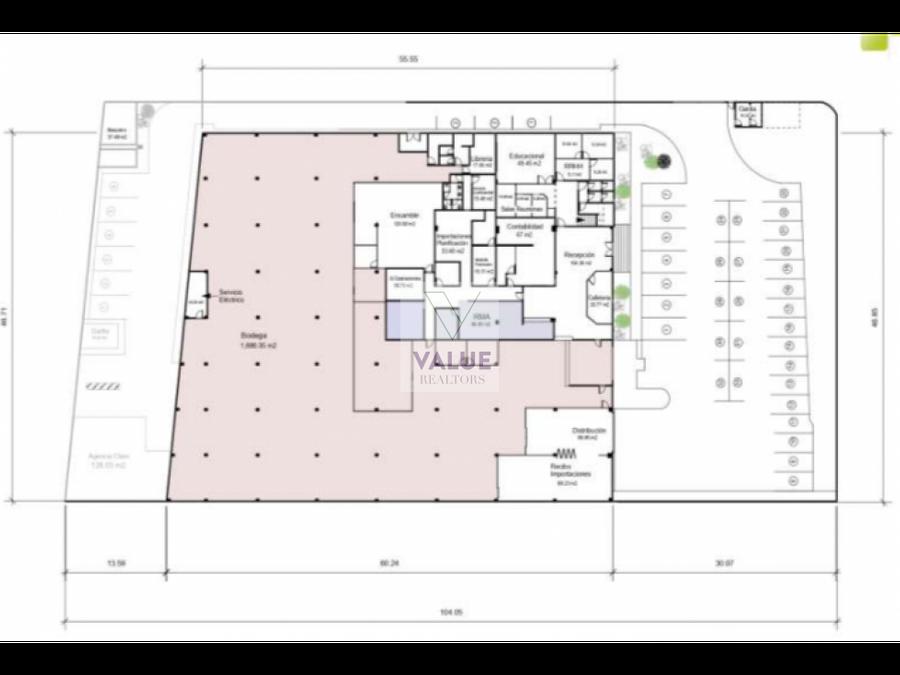 venta oficina con bodega 7mil m2 y 7637v2 de terreno g5 zona 10 1
