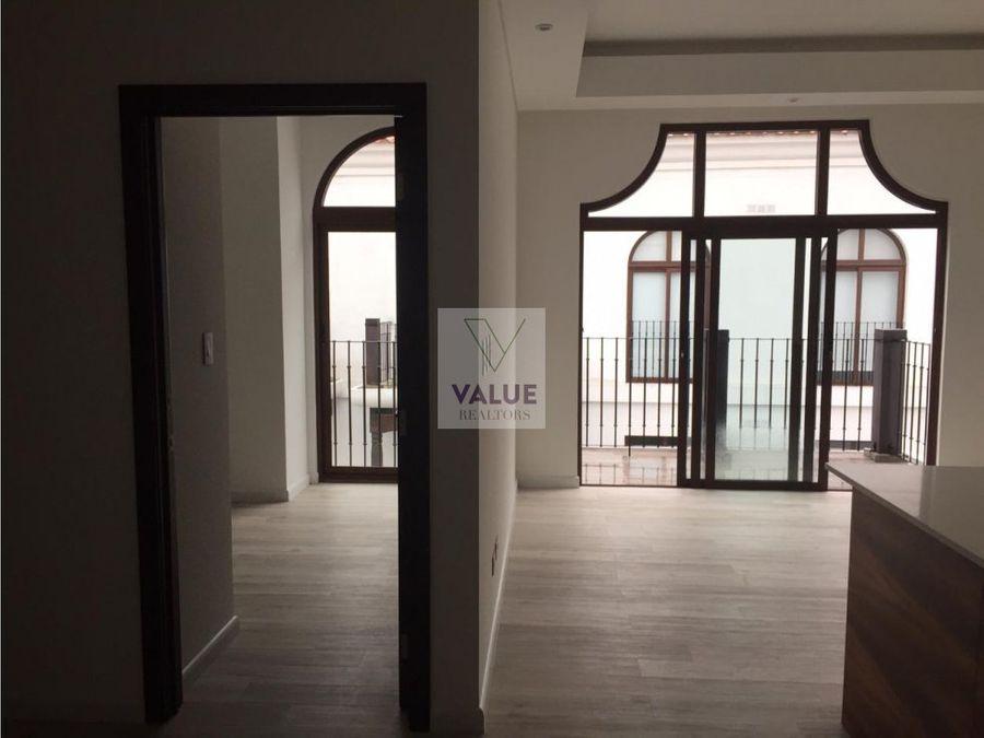 venta o renta apartamento en cayala z16