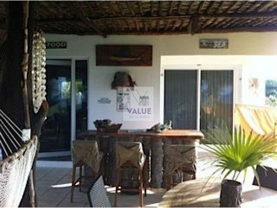 venta casa en monterrico frente a la playa1