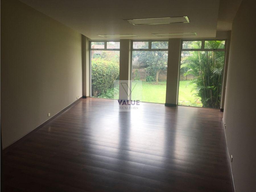 venta y renta casa en zona 15 ideal oficina