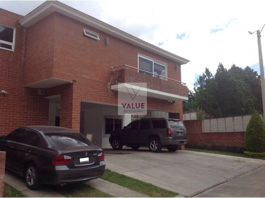 casa en venta carretera a el salvador 1