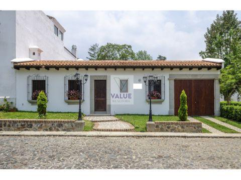 venta casa 3 dorm en sector antigua en condominio