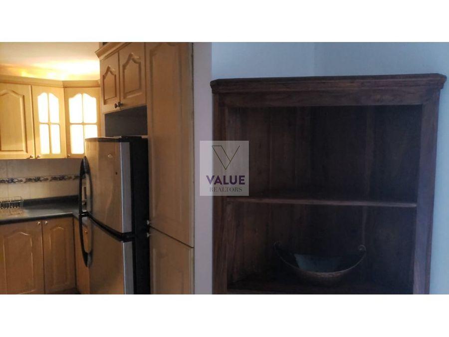 renta apartamento en z14 amueblado excelente precio