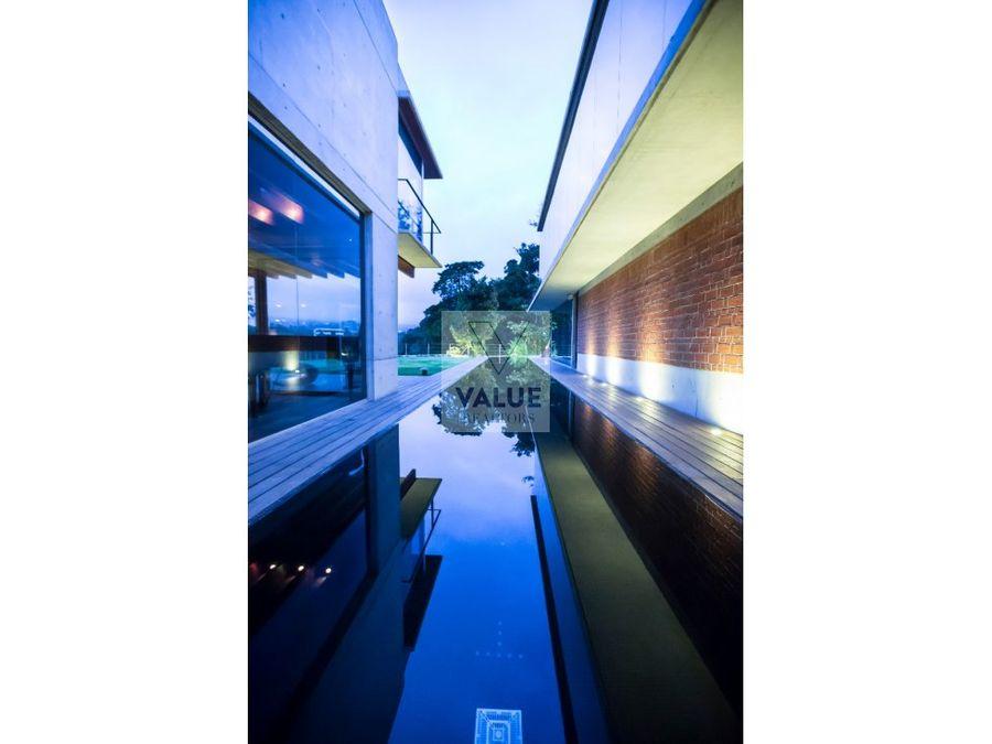 venta exclusiva residencia en oakland de 874m2