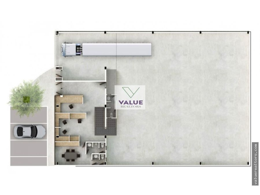 venta ofibodega de 769 m2 en condo sector palin