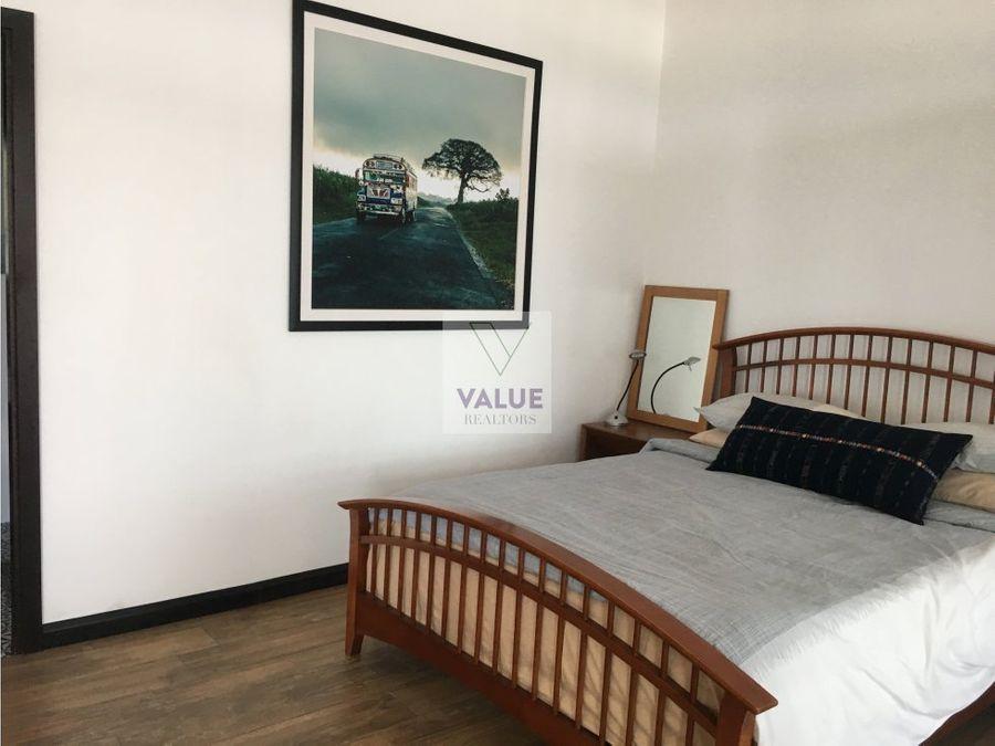 venta o renta apartamento amoblado en z1