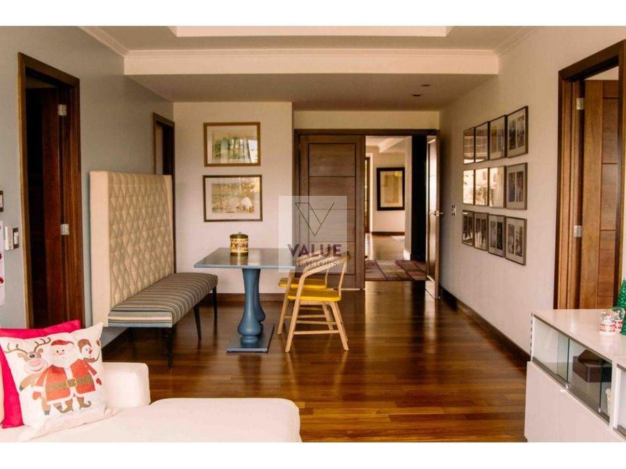 venta lujoso apartamento en z14