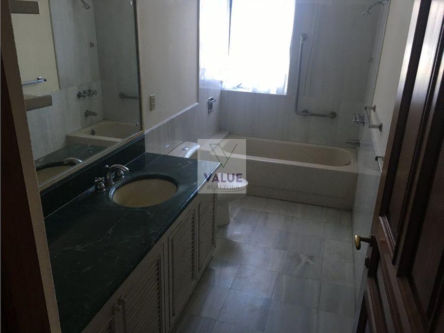 renta apartamento exclusivo en z14