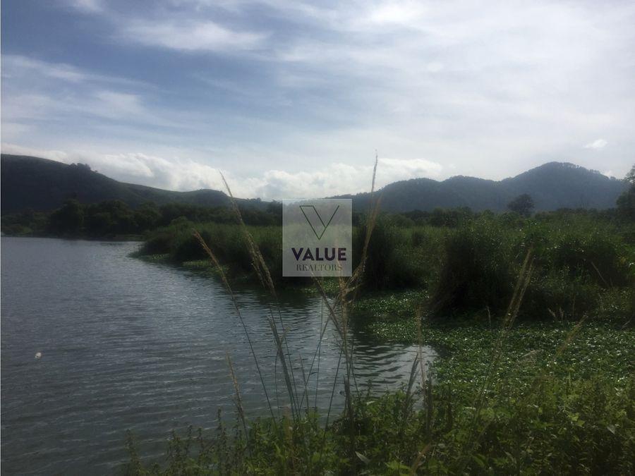 venta terreno orilla lago amati 7mz