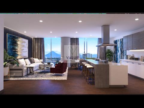 venta exclusivo apartamento nuevo con jardin 4 dorm 408m2