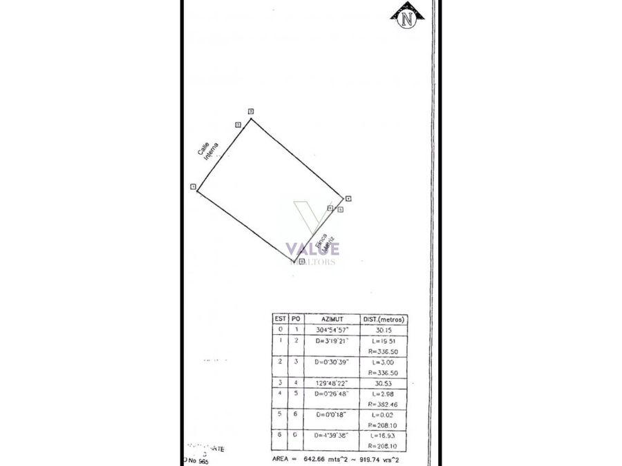 venta terreno 920v2 en zona 16 1