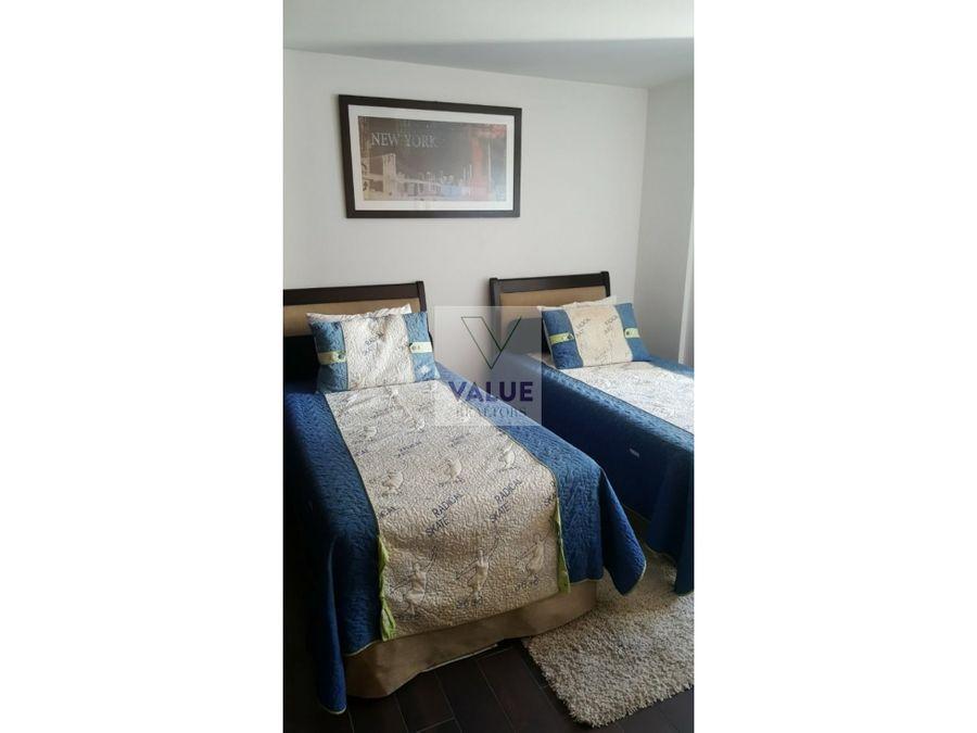 renta apartamento amoblado 3 dorm en z14