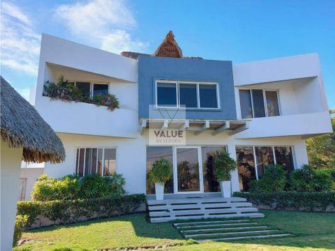 venta o renta espectacular casa en la playa