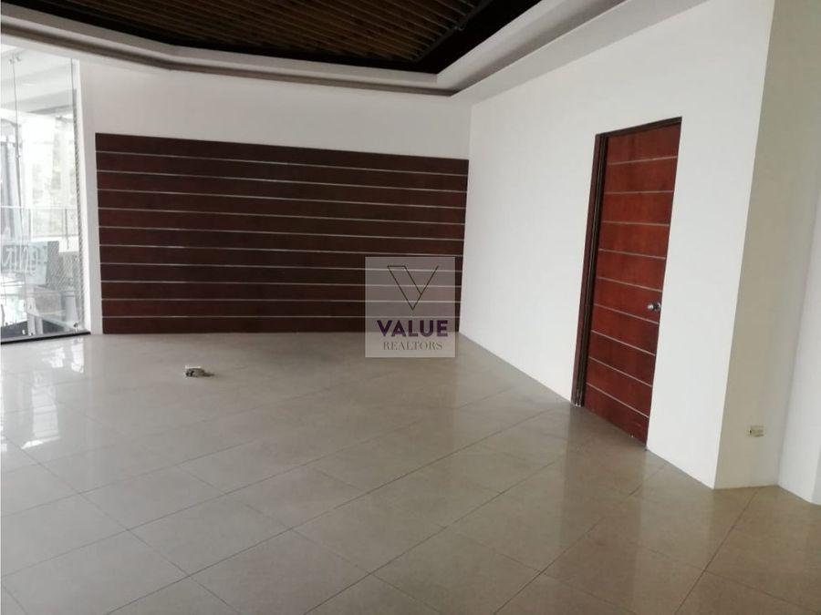 venta o renta local en edificio en zona 10