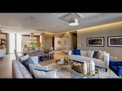 venta exclusivo apartamento nuevo de 3 dorm 247m2