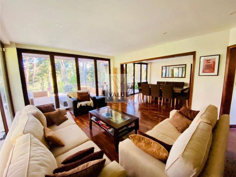 venta casa en sector muxbal 550m2 1893v2 4 dorms 1