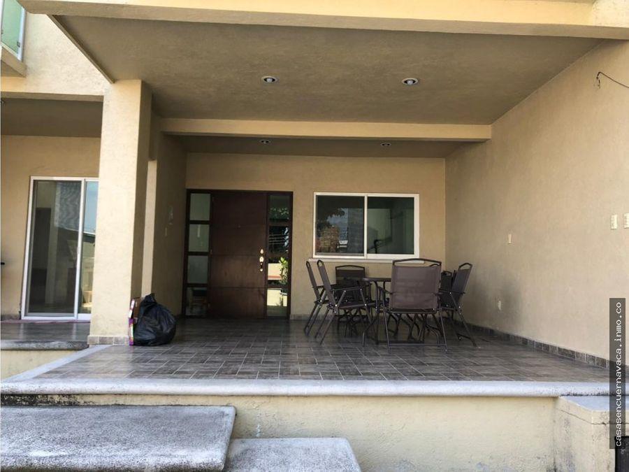 venta de casa en la fincas secc esmeralda jiutepec