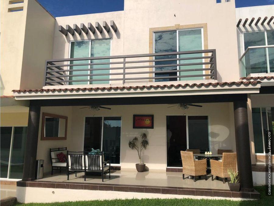 hermosa casa en residencial ibiza