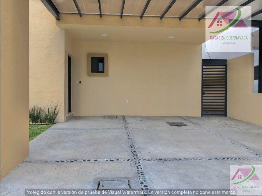 venta de casa en residencial pavoreal jiutepec