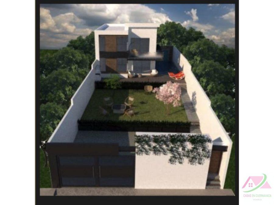 casas con alberca y jardin rivado a 15 min de cuernavaca mor