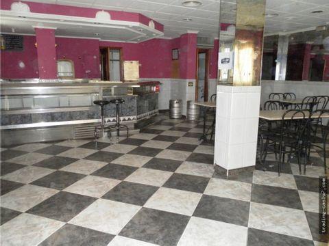 local comercial actualmente bar