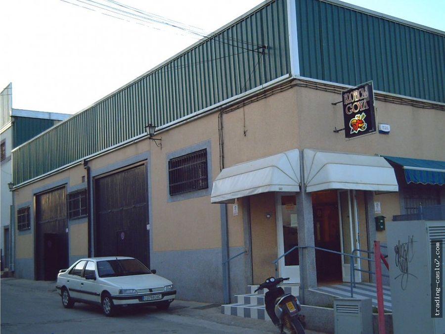 local comercial poligono chinales